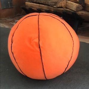 Stuffed basketball pillow